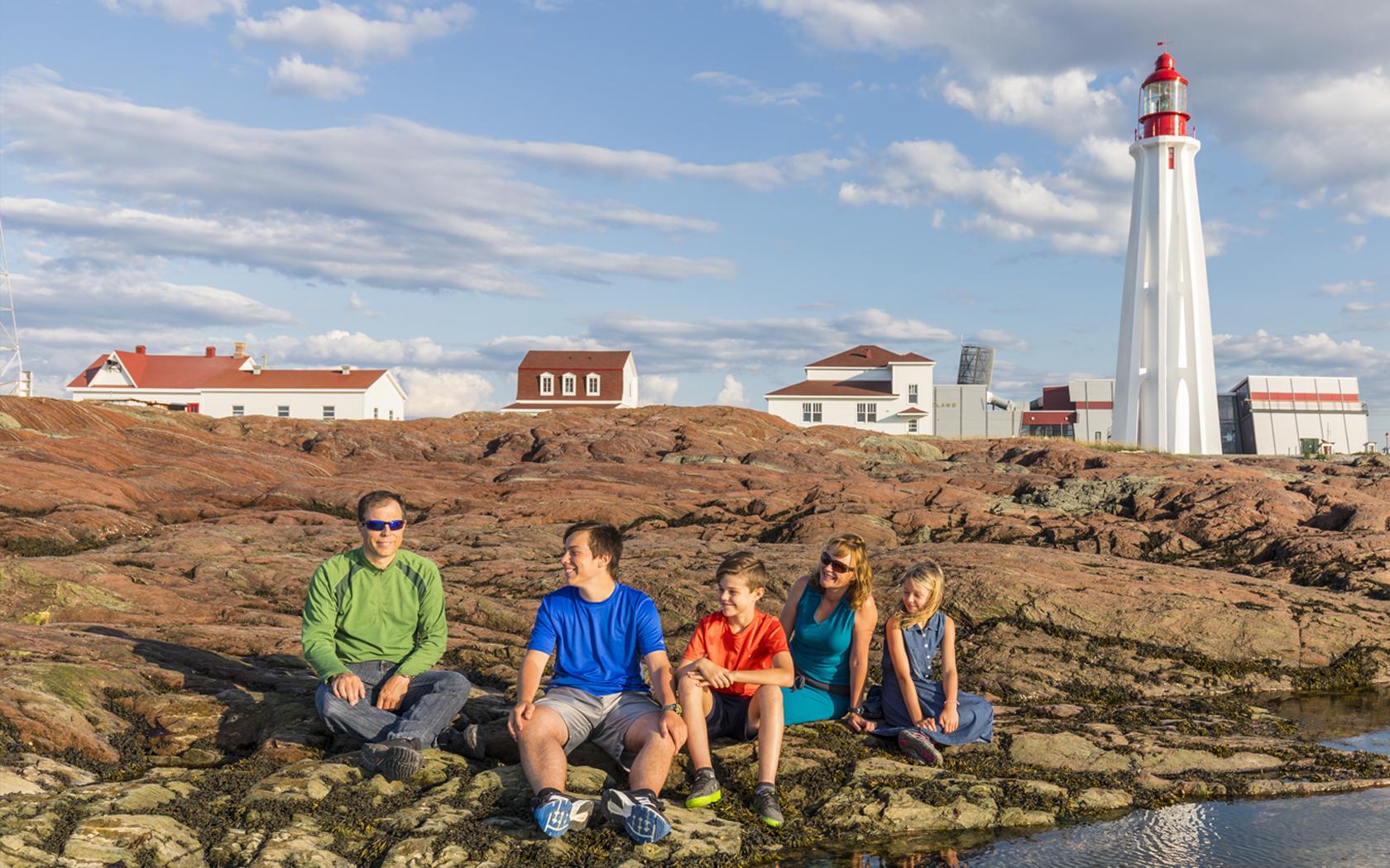 Site historique maritime de la pointe au p re for National rimouski
